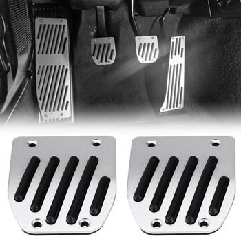 4pcs Car Manual Transmission Clutch Brake Foot Rest Pedal Pad for BMW 1 3 5 7 X1 Series E30 E32 E34 E36 E38 E39 E46 E87 E90 E91 image