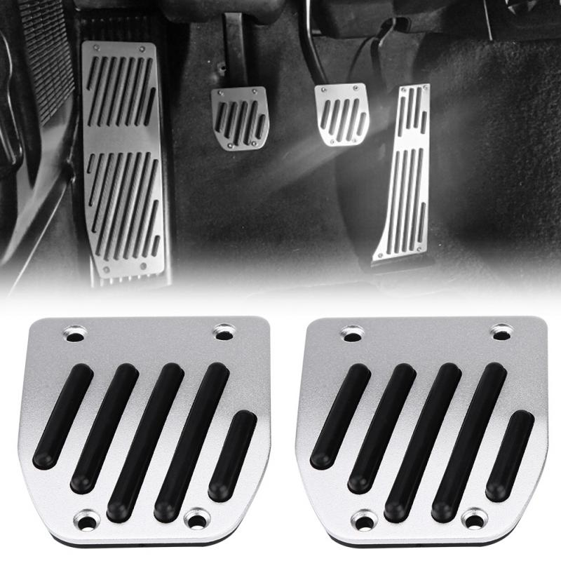 4pcs Car Manual Transmission Clutch <font><b>Brake</b></font> Foot Rest Pedal Pad for <font><b>BMW</b></font> 1 3 5 7 X1 Series <font><b>E30</b></font> E32 E34 E36 E38 E39 E46 E87 E90 E91 image