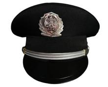 Men Visor cap security guard hat army caps men military police hats for cosplay Halloween Christmas festival gift