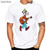 Funny Goofy 3D T Shirt Men Short Sleeves Anime Dog Printed T Shirt Tops Harajuku Casual
