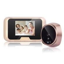 "3.0"" HD digital LED Color Screen video door phone Digital Door Viewer Smart Peephole Camera Night Vision Doorbell Home Security"