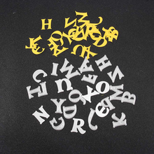 Alphabet Letter A-Z Metal Cutting Dies Stencil DIY Scrapbooking Paper Card Craft Navidad Christmas Decorations