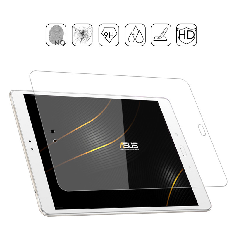 For Asus Zenpad 3S 10 Z500M Screen Protector Glass 9H Clear Scratch Resistant Tempered For Zenpad