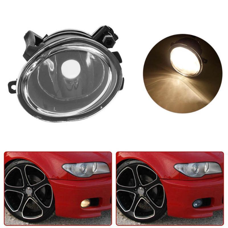 VODOOL Car Auto Front Bumper Right/Left Side Fog Light without Bulb for BMW E39 E46 M3 525i 2001-2006 Car  Styling Accessories 2pcs right left fog light lamp for b mw e39 5 series 528i 540i 535i 1997 2000 e36 z3 2001 63178360575 63178360576