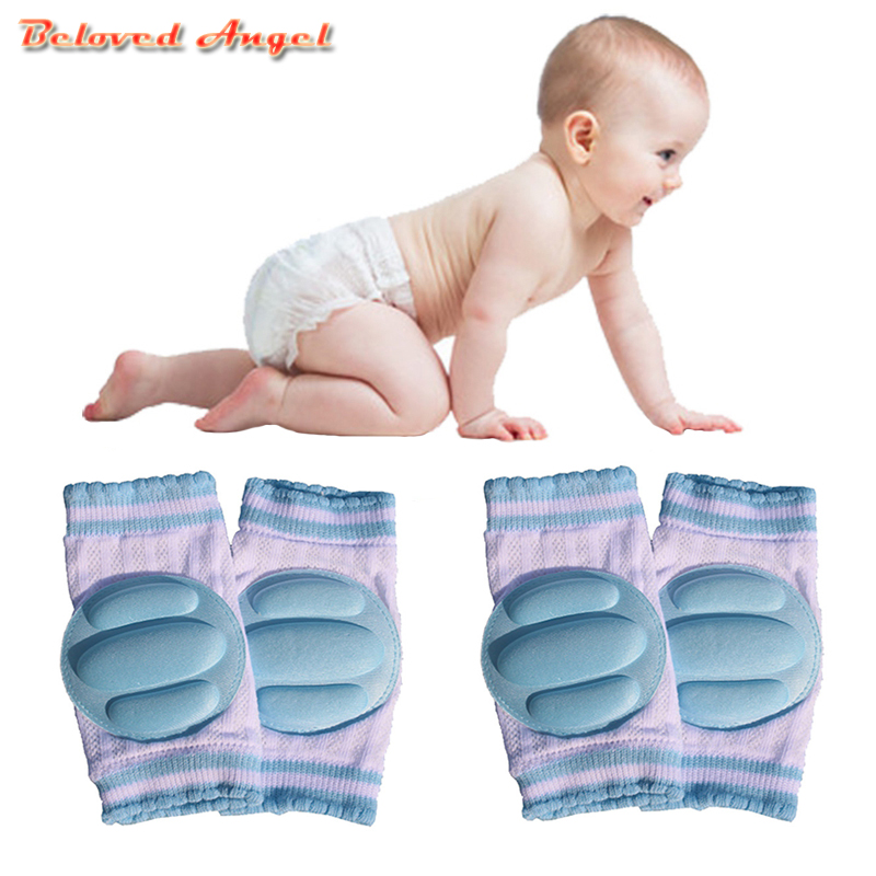 2019 Harnesses & Leashes Baby Knee Pad Kids Safety Crawling Elbow Cushion Infant Toddlers Knee Support Protector Baby Kneecap