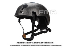 Fma men hot Tactical Helmet Suspension System + Senior Spongey Light Memory Spokesman Style Tb1050 -bk