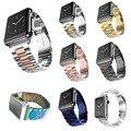 Замена Нержавеющая Сталь Смотреть Band для Apple Watch Серии 2 Ремешок Для Apple Watch iWatch 38 мм 42 мм С Адаптерами