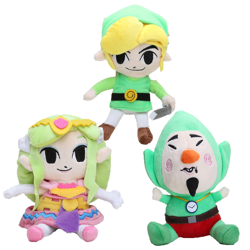 "The Legend of Zelda Plush Toys Soft Toys Children 8""20cm Wind Waker Link princess Plush Little Buddy Tingle Stuffed Toy Doll"