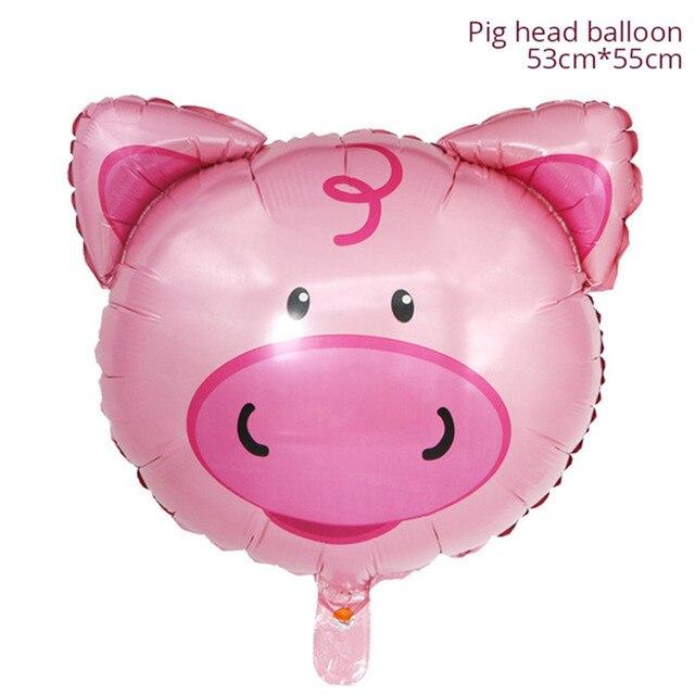 Pig Monkey 1st birthday decorations 5c64f9ae5e140
