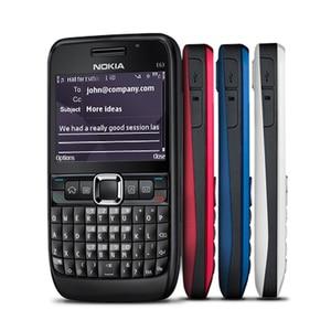 Image 1 - 100% الأصلي نوكيا E63 3G مقفلة الهاتف المحمول واي فاي بلوتوث لوحة المفاتيح QWERTY الهاتف المحمول ولوحة المفاتيح العربية الروسية