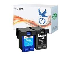 Высококачественные бледно-21 22 чернильный картридж Замена для hp 21 для hp 22 xl для принтеров серий Deskjet F2180 F2200 F2280 F4180 F300 F380 380 D2300