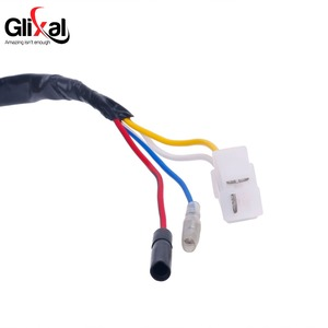 Image 4 - Glixal GY6 49cc 50cc 8 coil Magneto Alternator Stator for 139QMB 139QMA Chinese Scooter Moped Engine (Dual Ignition Coils)