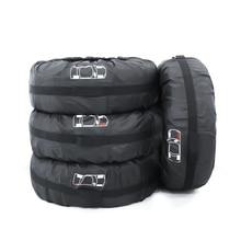 Чехол для запасного колеса, чехол для автомобильных шин из полиэстера, сумка для хранения автомобильных шин, аксессуары для автомобильных шин, защита колес, зима и лето