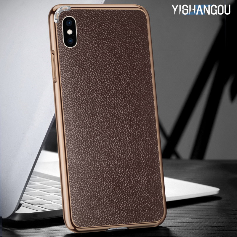 luxury-genuine-leather-litchi-back-stickers-case-for-iphone-xs-max-xr-x-metal-frame-protective-cover-for-iphone-x-6-6s-8-7-plus
