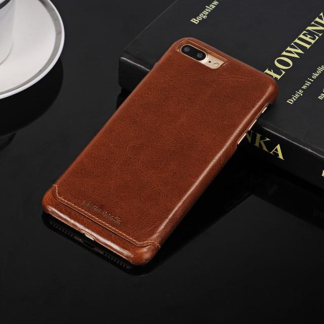 ピエールカルダン用iphone 5 5 s se 6 6 s 7プラスプレミアム本革2017ファッションfundasヴィンテージcapa携帯電話バックカバーケース