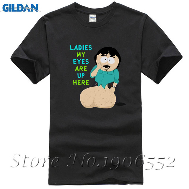 b63b2bdaf Randy Marsh Huge B South Park Male T Shirt 2017 Fashion Customized Loose  Tops Men Summer O Neck Tee Teenboys Simple Tee Shirt