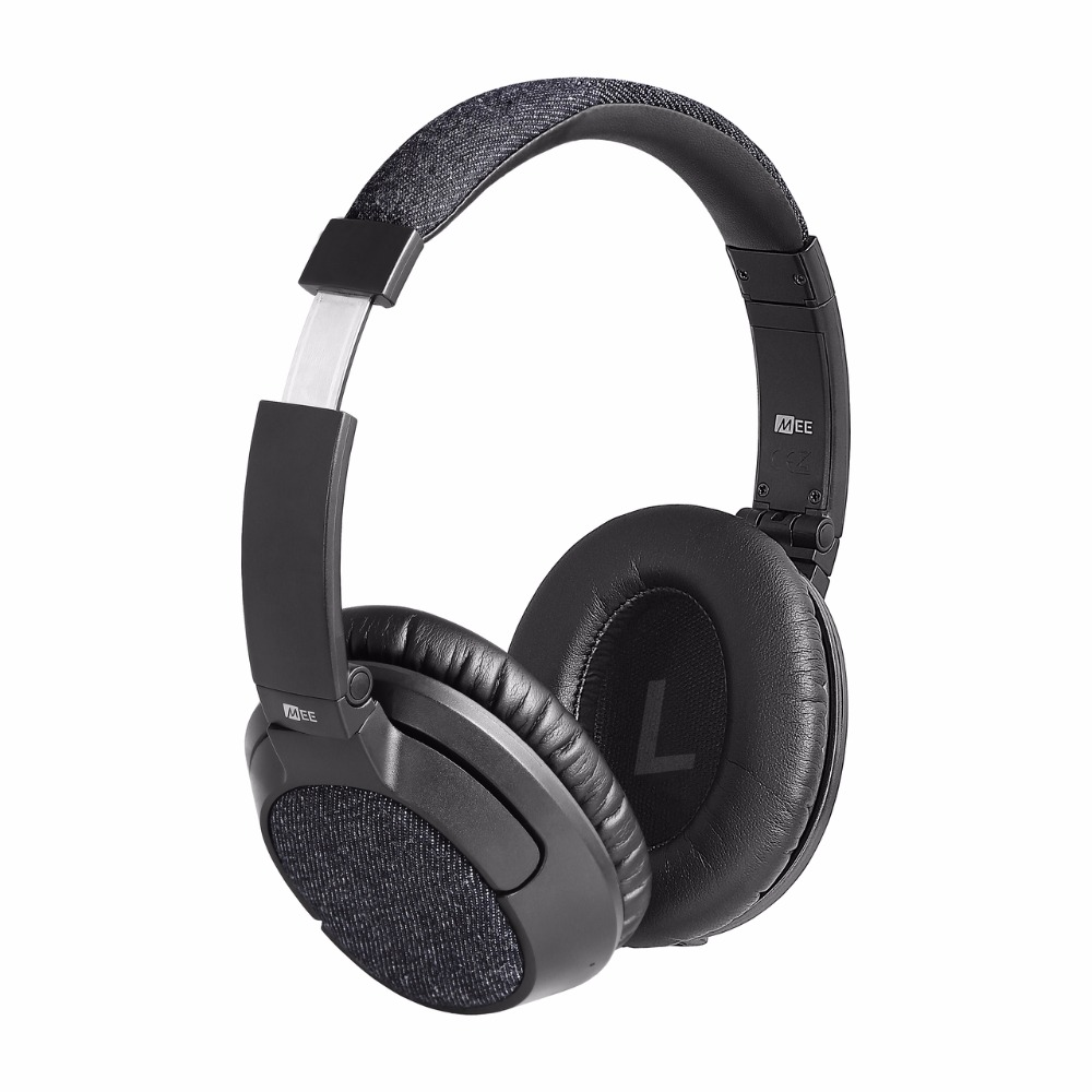 100% Original MEE Audio MATRIX3 AF68-DN Bluetooth Wireless Over Ear HD Headphones Noise Cancelling Headsets Great Bass VS QC25 24 hours ship mee audio matrix3 af68 stereo wireless bluetooth headphone with mic noise cancelling over ear headset for iphone 8