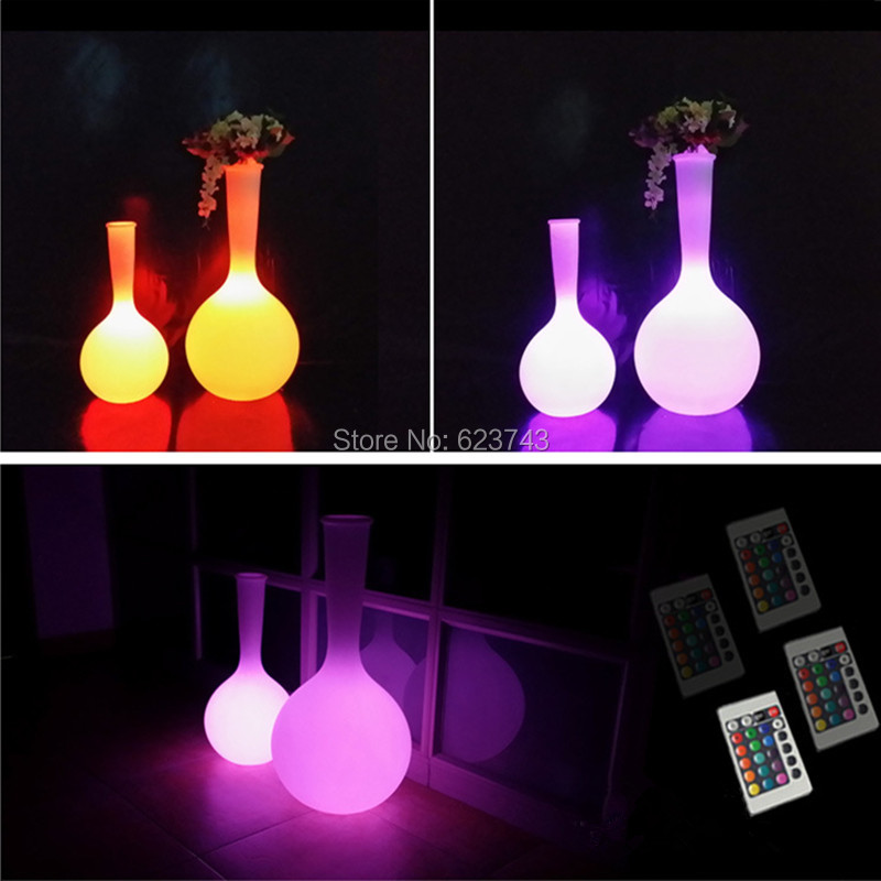 LED Floor Lamp Color Changing Flower Pot