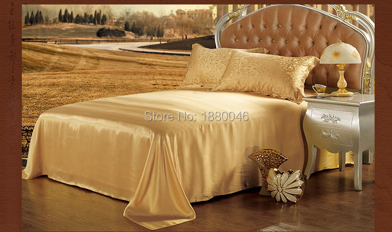 Luxury 16 Momme 100 Mulberry Silk 4pcs Bedding Sets