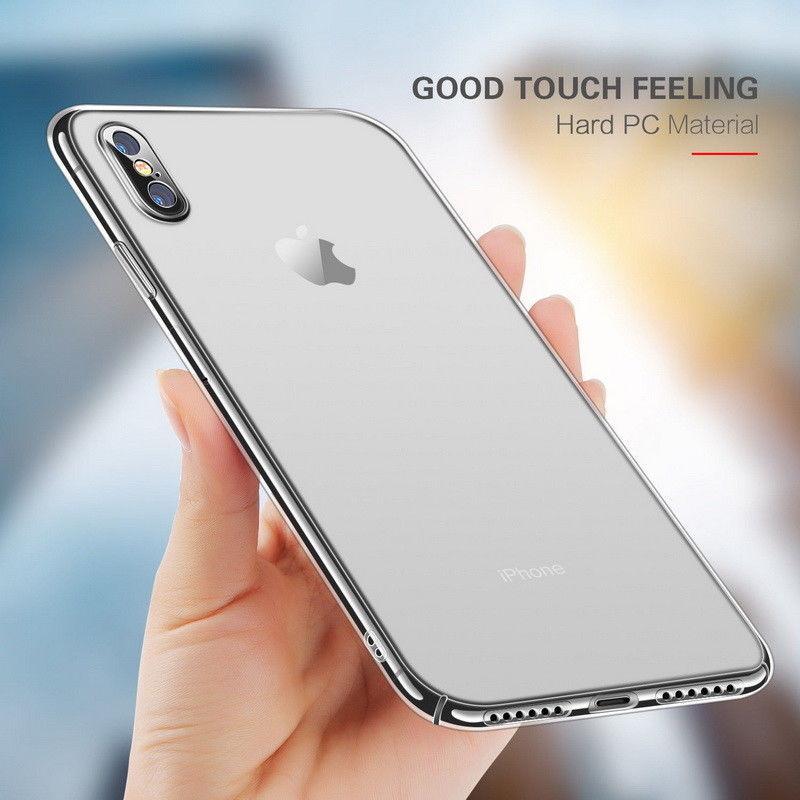 coque iphone xs transparente dur