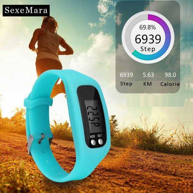 New arrival pedometer sports watch Men women students lovers sports running nece