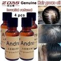 4 pcs Anti-Produtos da perda de cabelo efeitos adicionais cabelo denso germinal líquido medicina agente de crescimento mais rápido de cabelo seborréica óleo