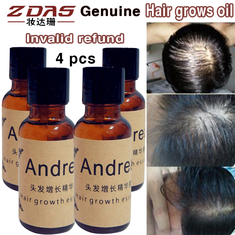4 Pcs Anti Hair Loss Products Effects Of Additional Germinal Dense Hair Liquid