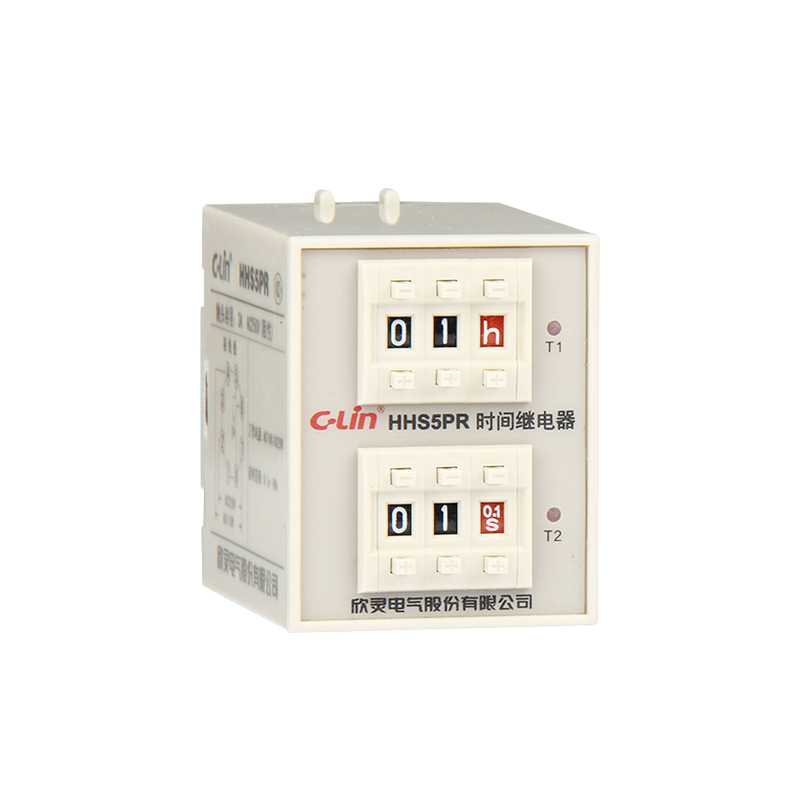 HHS5PR Numeralization Loop Time Delay Time Relay ST3PR Upgrade Edition AC220V/AC110V genuine taiwan research anv time relay ah2 yb ac220v