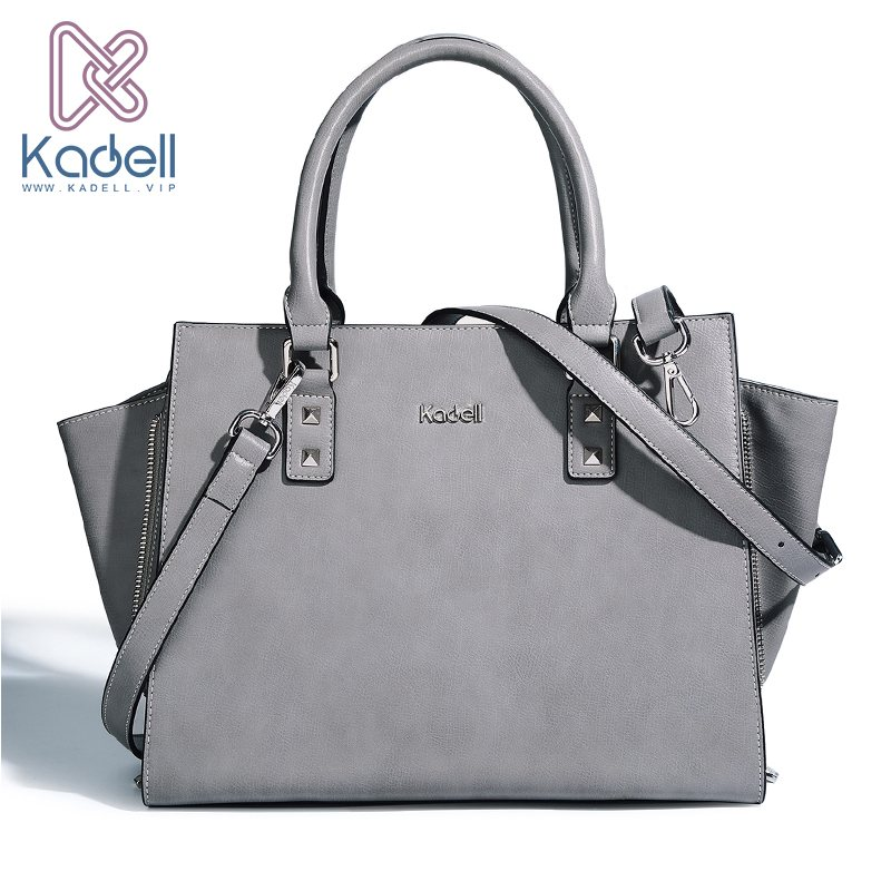 Kadell Women Messenger Bags Luxury Handbags Women Famous Brands Top Handle Trapeze Bag Designer Shoulder Bags High Quality New