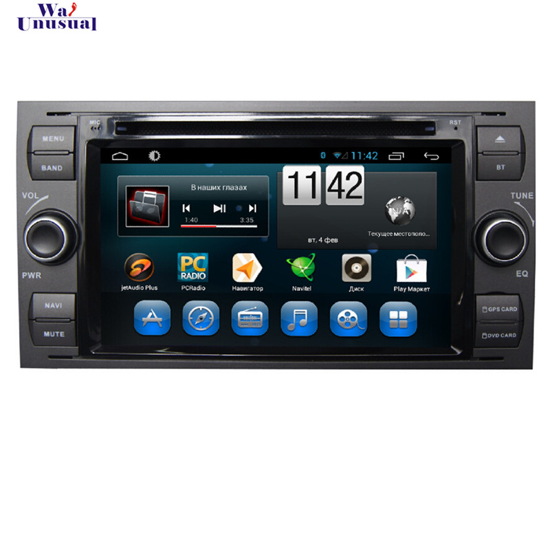 WANUSUAL 7 ''Android 6.0 Auto DVD-Player für <font><b>Ford</b></font> <font><b>focus</b></font> alt 1999 2000 2001 2002 <font><b>2003</b></font> 2004 2005 2006 mit BT WIF Quad Core 16G Karte image