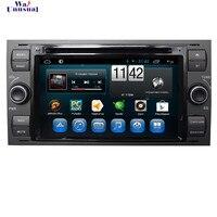 Wanобычный 7 ''автомобильный dvd плеер Android 6,0 для Ford focus Старый 1999 2000 2001 2002 2003 2004 2005 2006 с BT WIF четырехъядерный 16G карта