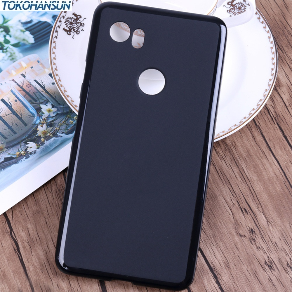 Soft TPU Case Cover For Google pixel 2 XL Silicone Black phone...