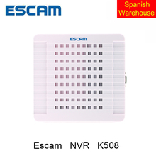 Escam K508 HD Mini NVR 8CH K508 H.264 HDMI/VGA Video Output Suppor Onvif,P2P Cloud Network Preview use for IP Camera