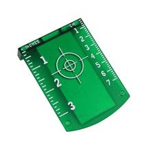 Laser Target Tarjeta Placa de Nivel Láser Verde