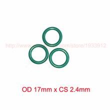 OD 17mm x CS 2.4mm viton fkm rubber o-ring o rings oring sealing
