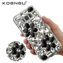 Kogngu Gifts Tpu Soft Crystal DIY Accessories for Samsung S8 Plus Case  Luxury Rhinestone Cases for. 3 Colors Available 3d20099cc6da