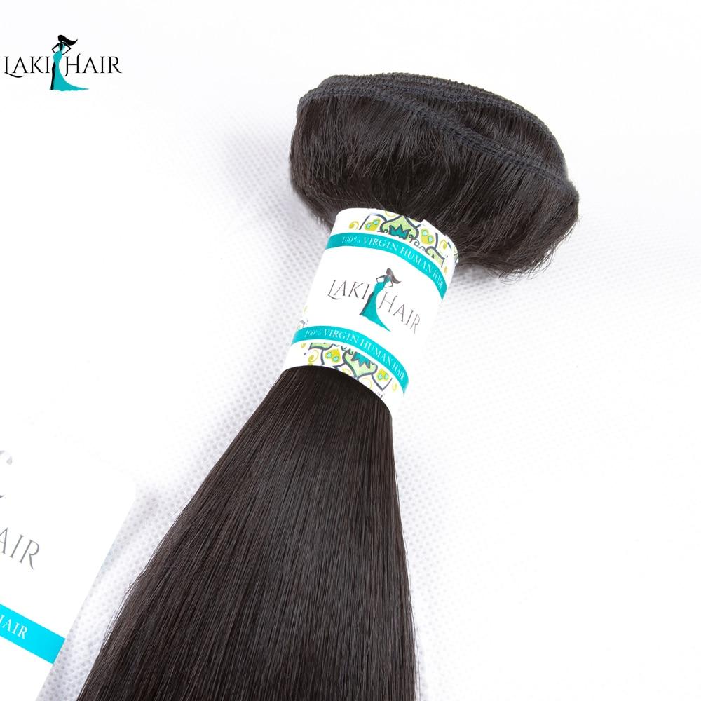 3 Bundles Straight Hair Human Hair Bundles Malaysian Straight Bundle Deals 100% Remy Hair Extension Natural Color LaKihair