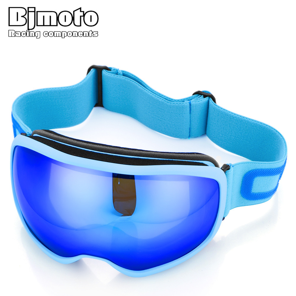 BJMOTO Snow Goggle Snowboard Goggles Double Anti-fog Ski Snowboarding Skiing Googles Winter Glasses UV400 Motorcycle Goggles