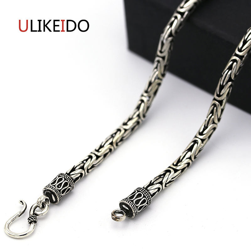 925 Sterling Silver Jewelry Cross Pendant Necklaces Fishion Charm Punk Link Thai Silver Chain For Men And Women Fine Gift 745925 Sterling Silver Jewelry Cross Pendant Necklaces Fishion Charm Punk Link Thai Silver Chain For Men And Women Fine Gift 745