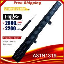 מחשב נייד סוללה עבור ASUS X551M X451C X451CA X551C X551CA A41N1308 A31N1319 0B110 00250100M