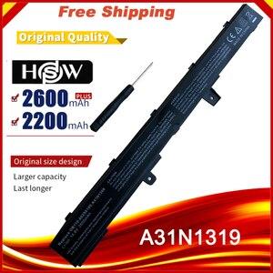 Image 1 - Laptop batterij voor ASUS X551M X451C X451CA X551C X551CA A41N1308 A31N1319 0B110 00250100M