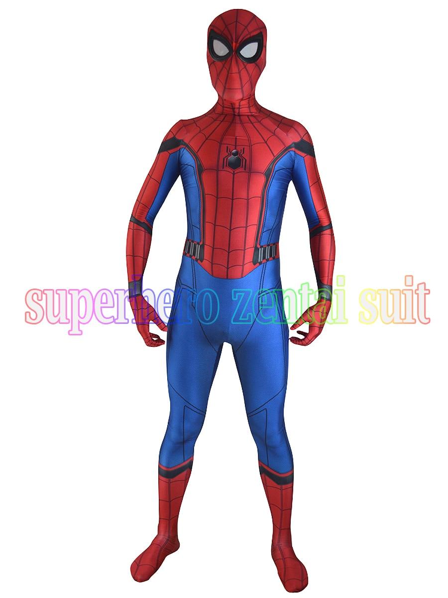 aliexpress com buy 2017 new spiderman costume 3d printe