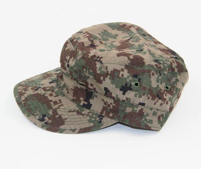 Unisex Army Camouflage Berretto Militare di Combattimento Treno Cappello  Tattico Camo Outdoor Airsoft Paintball Caccia Escursioni 27872266acf3