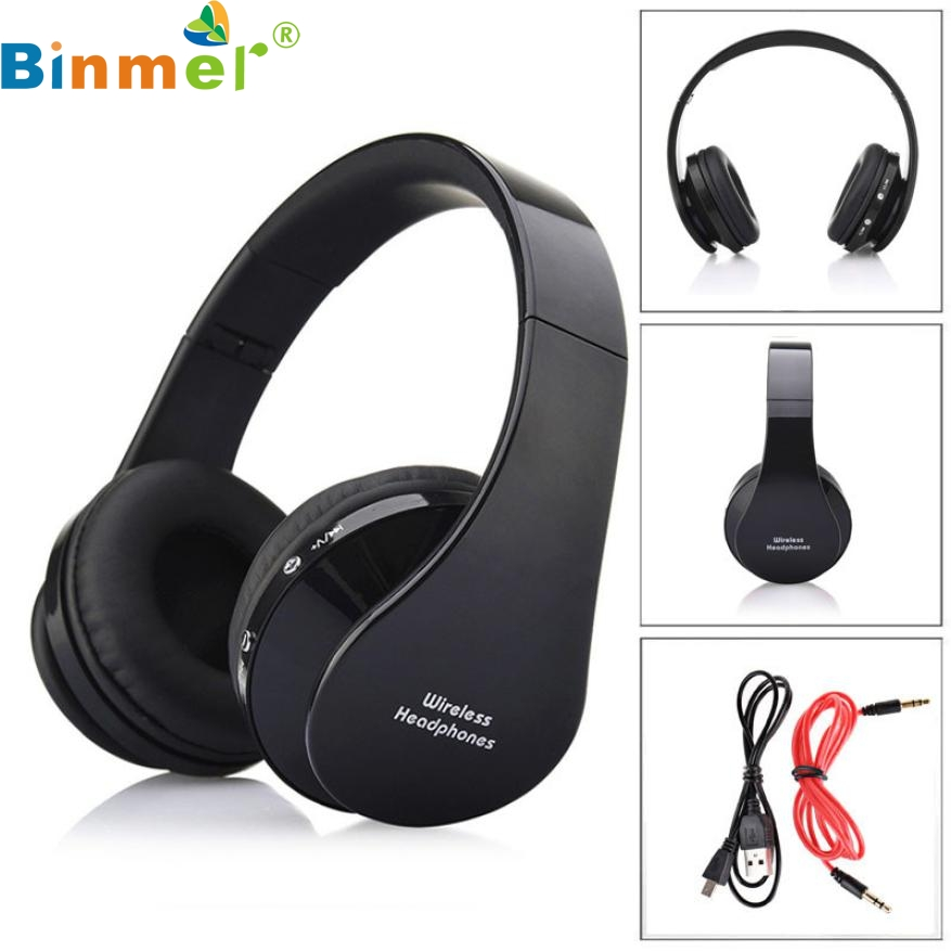 Factory Price foldable design and adjustable length Wireless Bluetooth Earphone Stereo Headset with audio jack Headphones Nov7 remax bluetooth v4 1 wireless stereo foldable handsfree music earphone for iphone 7 8 samsung galaxy rb 200hb