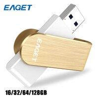 EAGET F50 High Speed USB 3 0 Flash Drive U Disk Memory Pendrive Metal Stick Pen