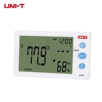 Fast arrival UNI-T A10T Digital Thermometer Hyrgrometer Weather Station Temperature Humidity Date Alarm Clock Function