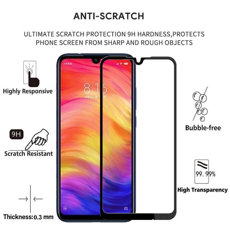 الزجاج المقسى ل Xiaomi Redmi ملاحظة 7 الزجاج واقية عودة كاميرا لين فيلم و واقي للشاشة Xiomi Xaomi Xiami Xioami Note7