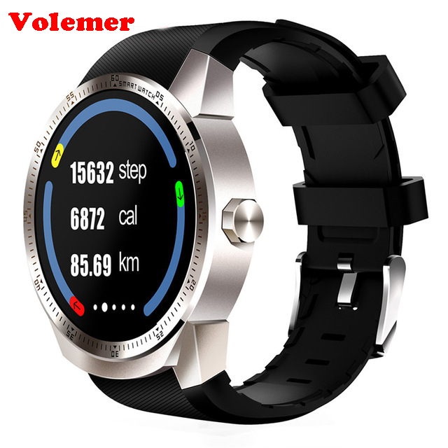 Volemer K98H 3G Smart Watch Android 4.4 OS MTK6572A RAM 512MB ROM 4G Support nano SIM Card GPS WIFI Heart Rate Smart wristwatch sim808 module gsm gprs gps development board ipx sma with gps antenna raspberry pi support 2g 3g 4g sim card