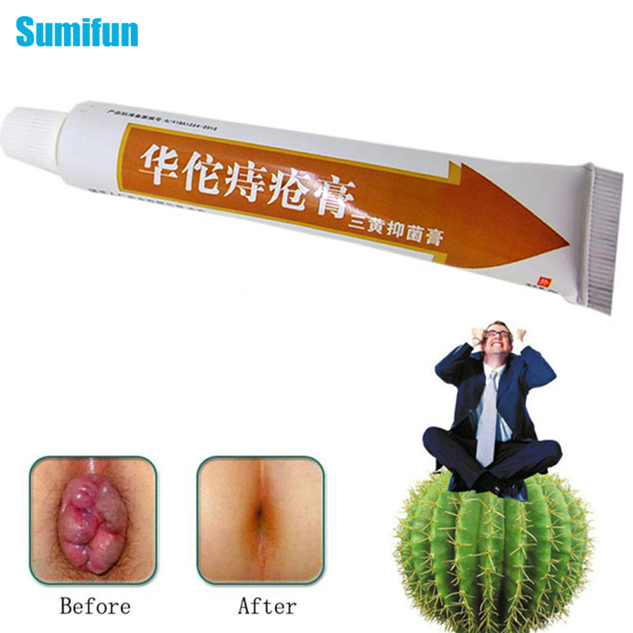Hua Tuo Hemorrhoids Ointment Plant Herbal Hemorrhoids Cream Internal Hemorrhoids Piles External Anal Fissure 25g P1002