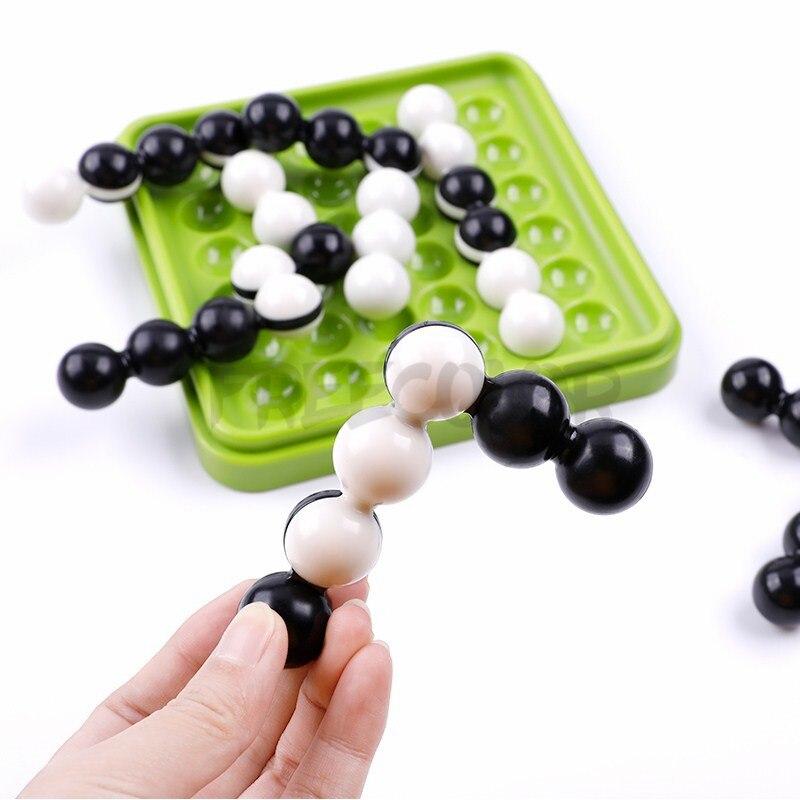 Enfants IQ Puzzle 60 défi avec des jouets de Solution famille intelligente pensée logique jeux de société Varety modèle Jouet Enfant Intelligent